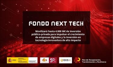 El MINECO posa en marxa el Fons Next Tech per empreses digitals en el marc del Pla de Recuperació espanyol