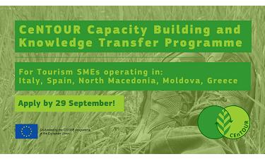 Convocatòria Centour: programa de construcció de capacitats i transferència de coneixement per a pimes turístiques
