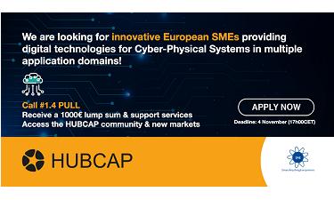 HUBCAP: ajuts a pimes innovadores en sistemes ciberfísics